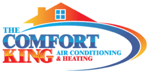 The Comfort King Air Conditioning & Heating Logo