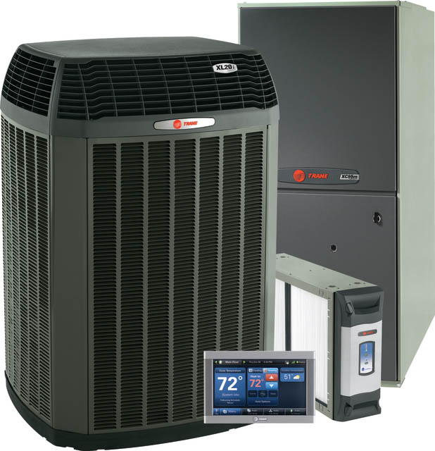Trane heating and air conditioning products